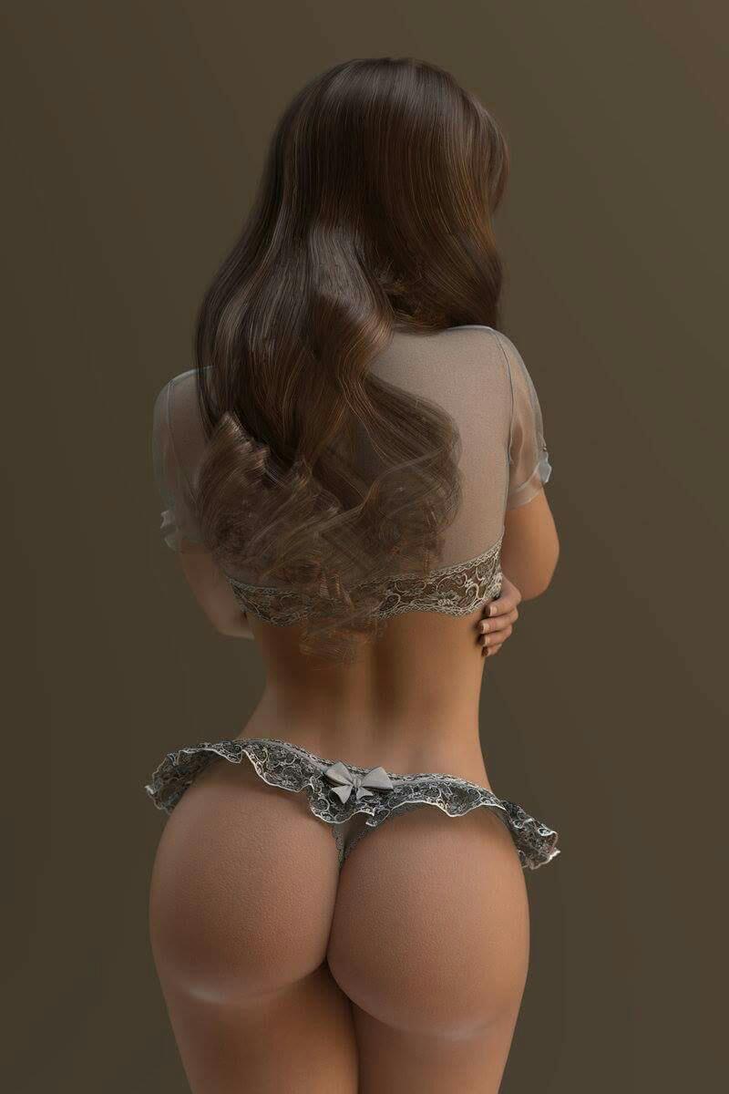 【海外エロ画像】乳だけではない海外美女たちの重量感漂うデカ尻!(`・д´・ ;)