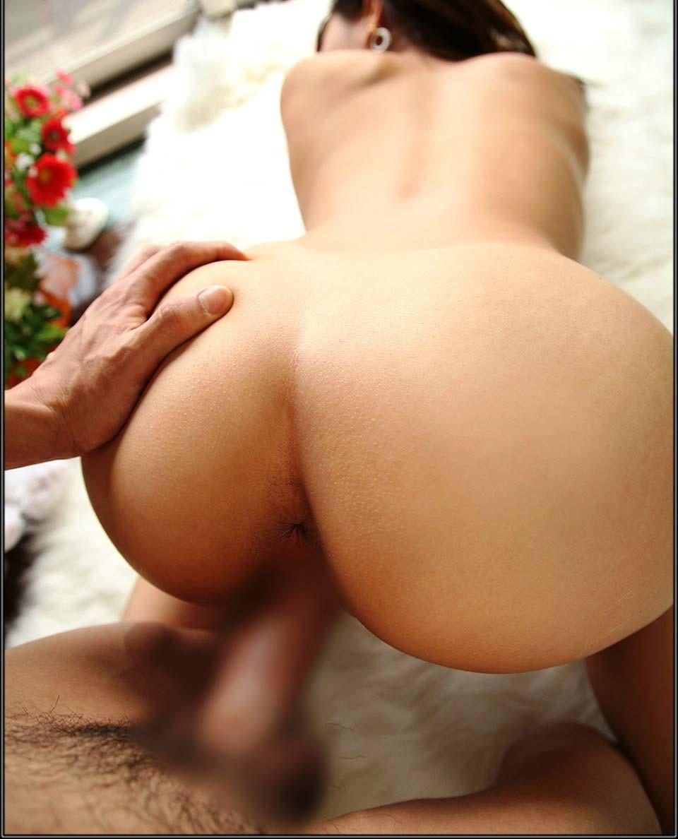 【性交エロ画像】突き出たお尻に男根直撃!進化前から伝統ある後背位セックス特集(;゚∀゚)=3