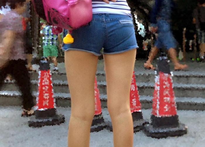 【美脚エロ画像】春到来…待ちに待ったショーパン美脚が鑑賞できる時が戻って来た!(;^ω^)