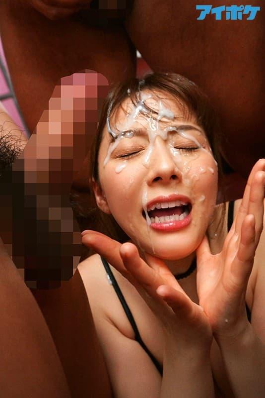【ぶっかけエロ画像】髪についたの落とし忘れると…大量ぶっかけされる人々!