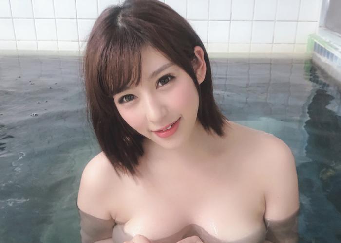 【音海里奈エロ画像】下着姿が凄くイヤらしいムチムチ巨乳ちゃん・音海里奈!