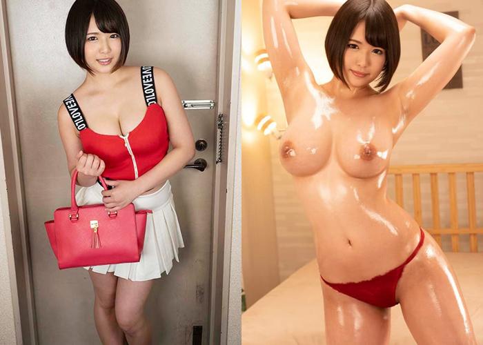 オイル塗ったら凄い巨乳ちゃん・真田みづ稀のエロ画像