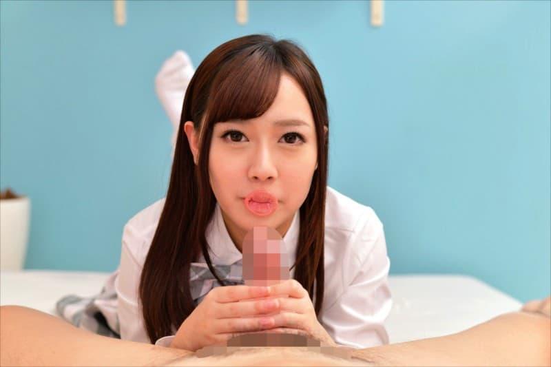 【春埼めいエロ画像】鑑賞する事も好きな筋金入りAVオタな美少女・春埼めい!