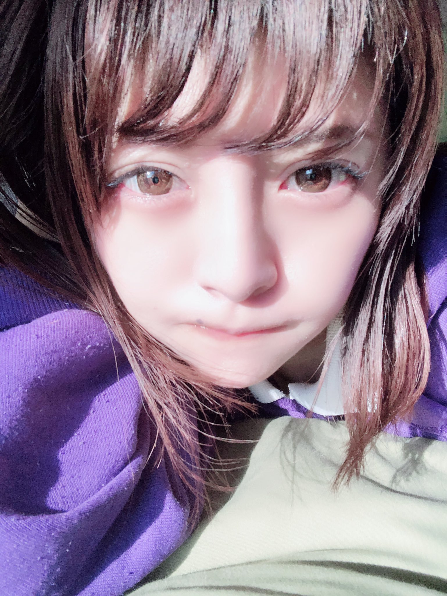 【石原理央エロ画像】豊かな乳がたまらないミニマム童顔美少女・石原理央!