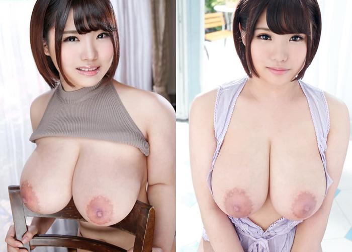 長身で爆乳な美少女・麻倉ゆあのエロ画像