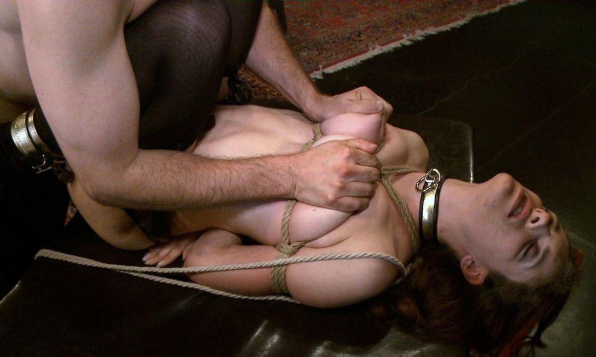 【SMエロ画像】縄が食い込むとアソコが締まる!?M女には緊縛セックス!