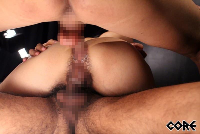 【性交エロ画像】尻穴姦通した人が次にする?刺激強すぎ二穴同時ファック!