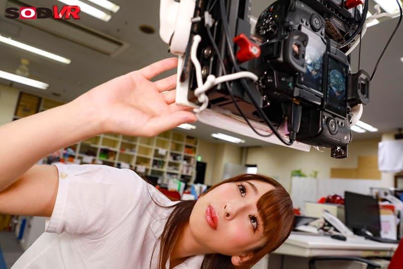 【吉岡明日海エロ画像】社員と女優いずれも本業なFカップお姉さん・吉岡明日海!