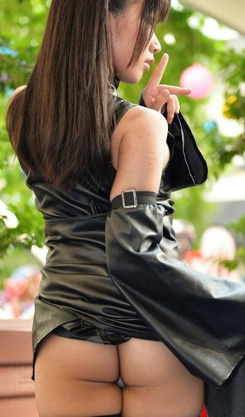 【コスプレエロ画像】どの方も肉付きたまらん女流レイヤーのハミ尻!