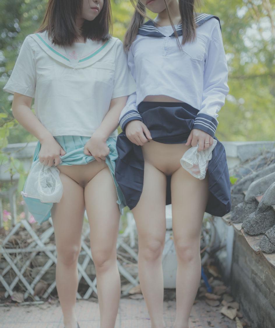 【パイパンエロ画像】陰毛は不要と見做した淑女たちのツルツル股間!
