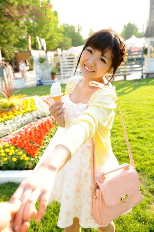 【並木杏梨エロ画像】特技はフェラと自ら明かす巨乳美少女・並木杏梨!