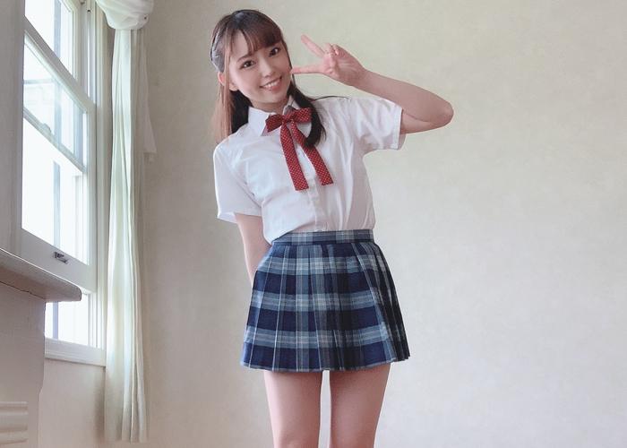 最初からごっくんした美少女・林愛菜のエロ画像