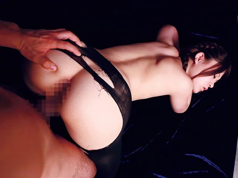 【性交エロ画像】野性的な交わりの快感を得られる後背位セックス!