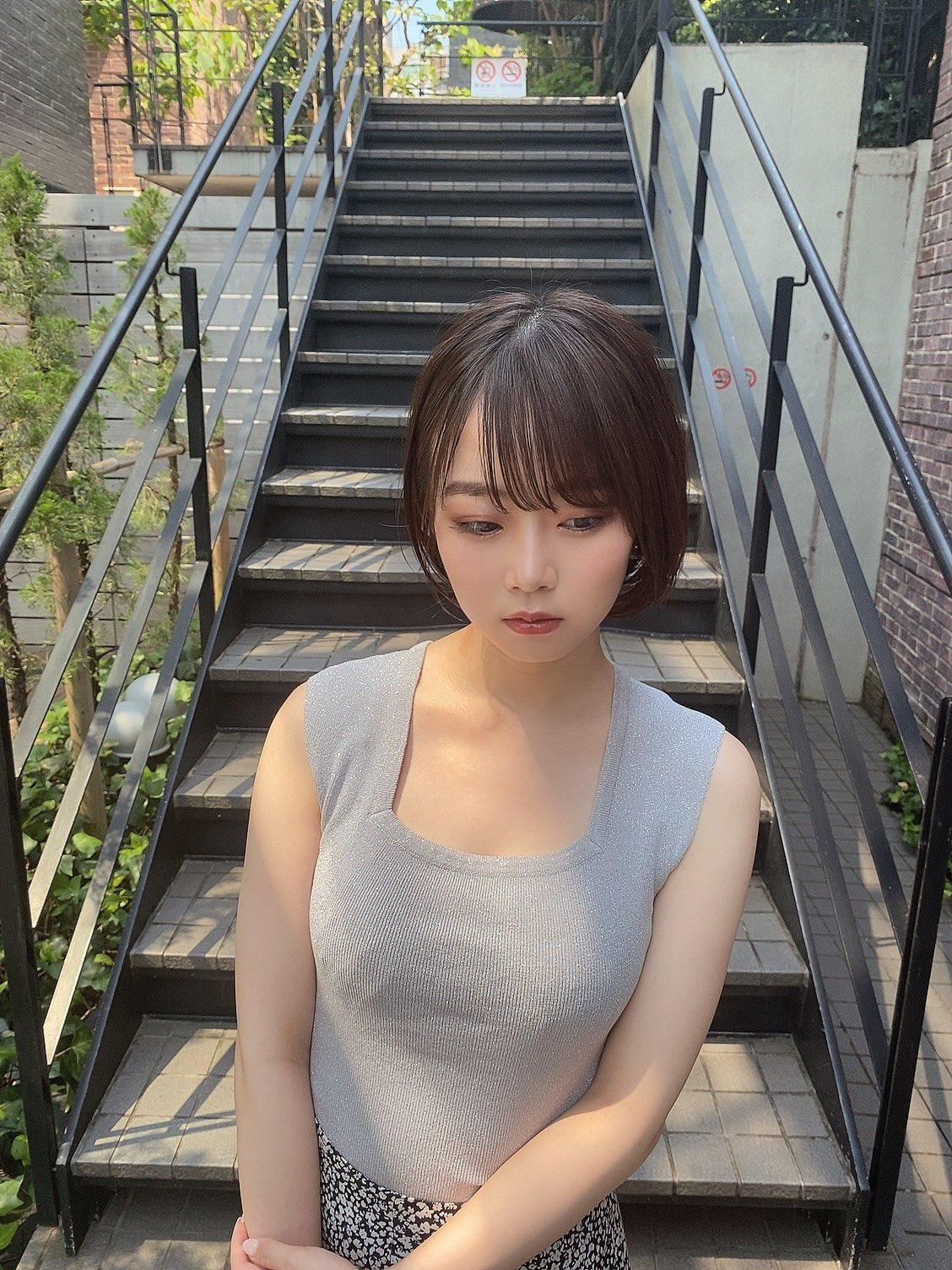 【渡辺まおエロ画像】今時のエモくて激カワな現役女子大生・渡辺まお!