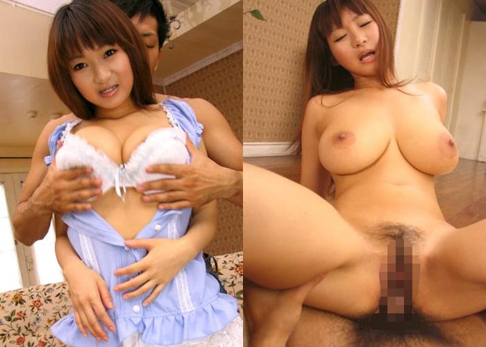 絶品デカパイ美少女・西野花梨のエロ画像