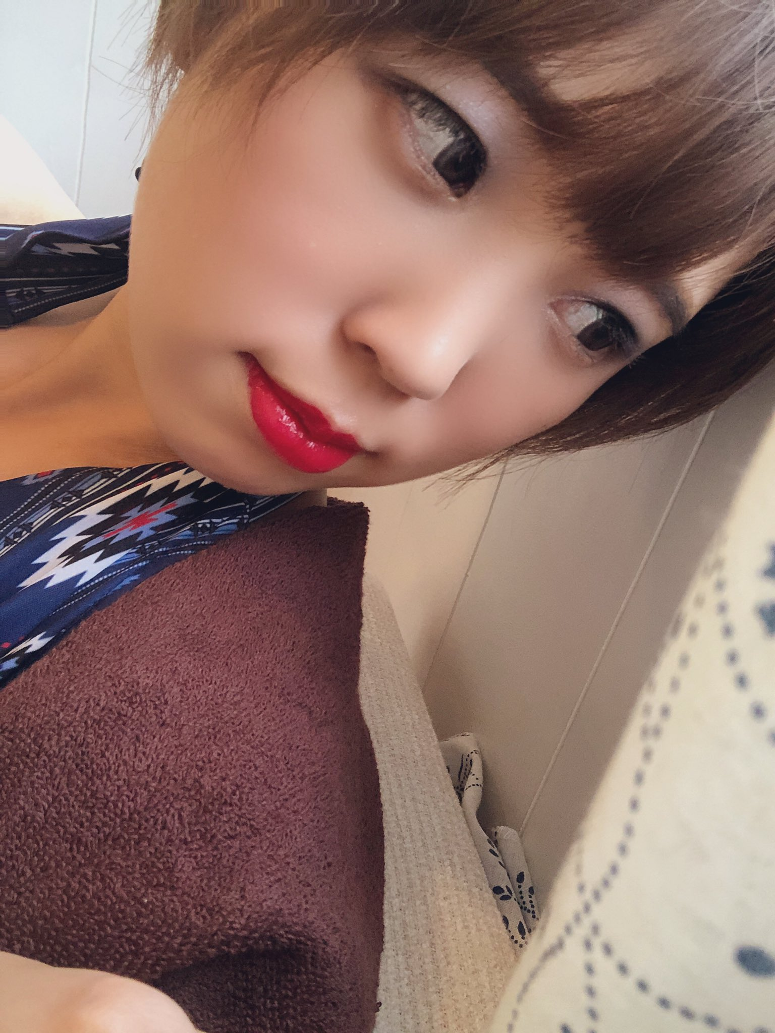 【竹田まいエロ画像】数年で美巨乳に成長できた童顔美少女・竹田まい!