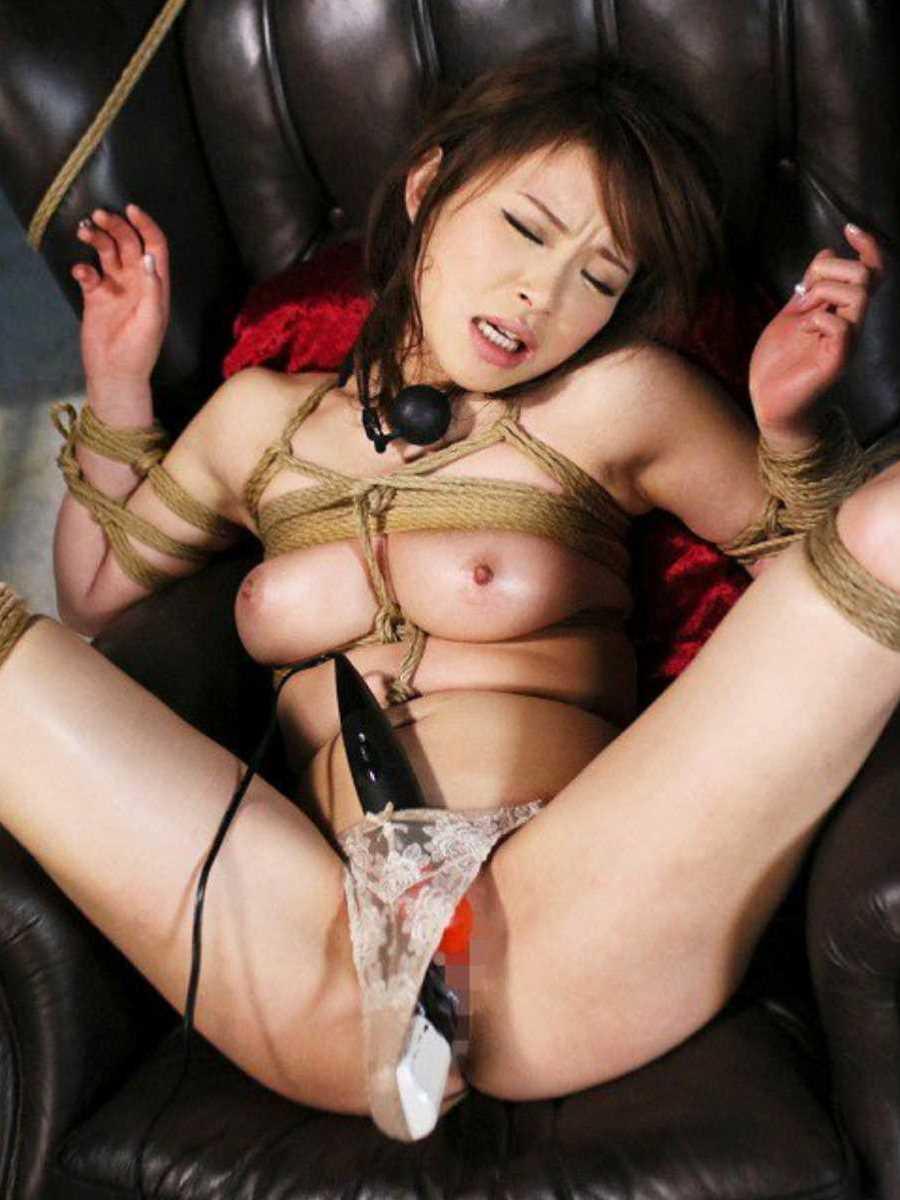 【玩具エロ画像】これで手を使わずとも抜けない…固定バイブで絶頂目指す淑女たち!