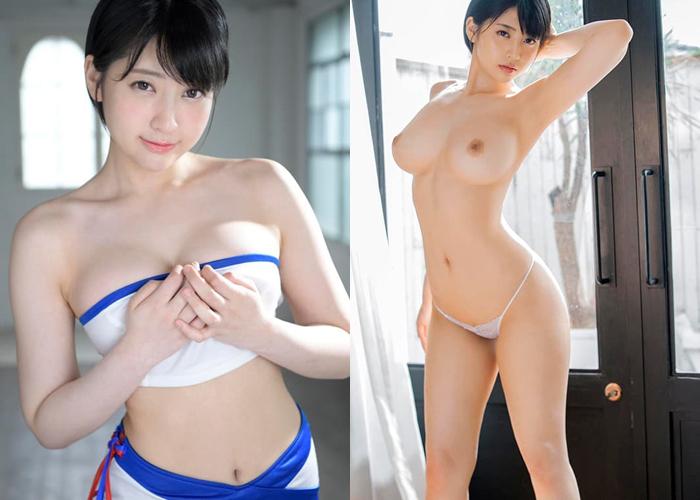 モデル級ボディな元名無し美女・夏目響のエロ画像