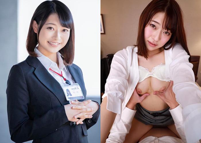 アイドル女子社員が咲き乱れ…中山琴葉のエロ画像
