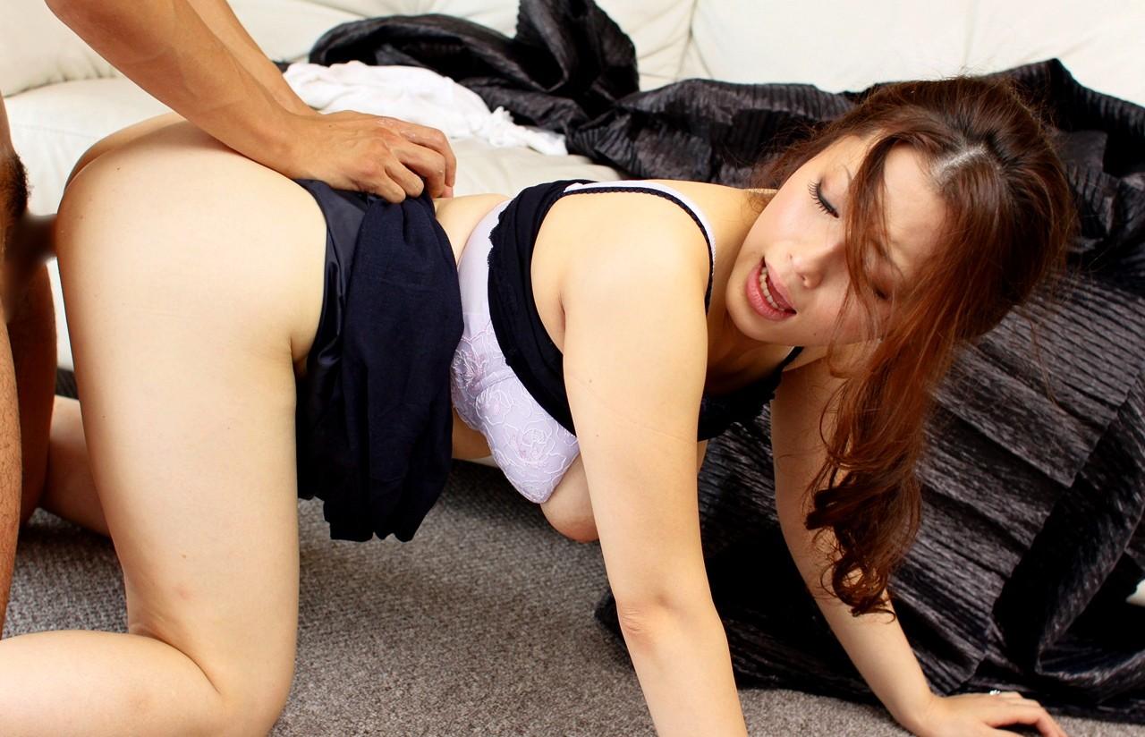 【性交エロ画像】実はお尻に喰われている!?楽しく快感な後背位セックス