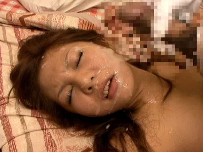 【ぶっかけエロ画像】真にお好きな淑女は少数…美形でも容赦ない大量顔射!