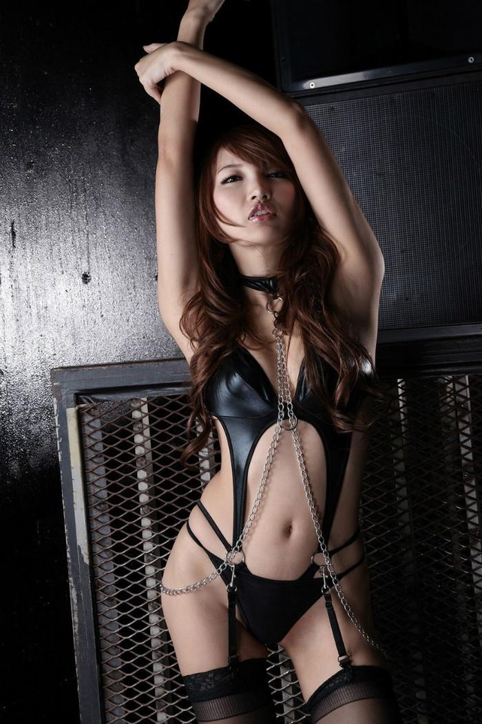 【ボンテージエロ画像】M男クンには堪らないファッション!?ボンテージ特集www 26