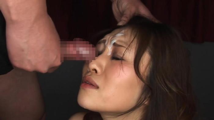 【顔射エロ画像】卑猥なほど顔面にぶっかけられたザーメンがエロ杉ワロタwww 04