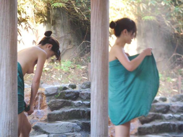 【女風呂エロ画像】一度は見たい!女風呂という男子禁制のエリアwwww 04