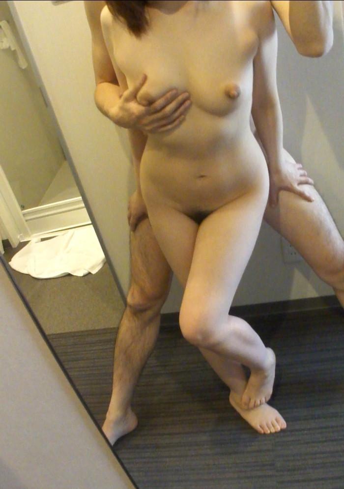 【カップル鏡撮りエロ画像】鏡を利用したカップルたちのセックス記録www 02