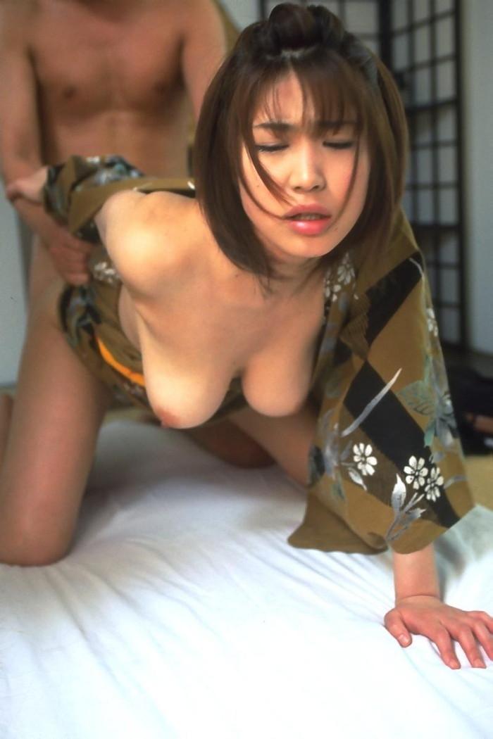【和服エロ画像】新年といえば和服の女の子!和服の女の子のエロ画像集めたったww 01
