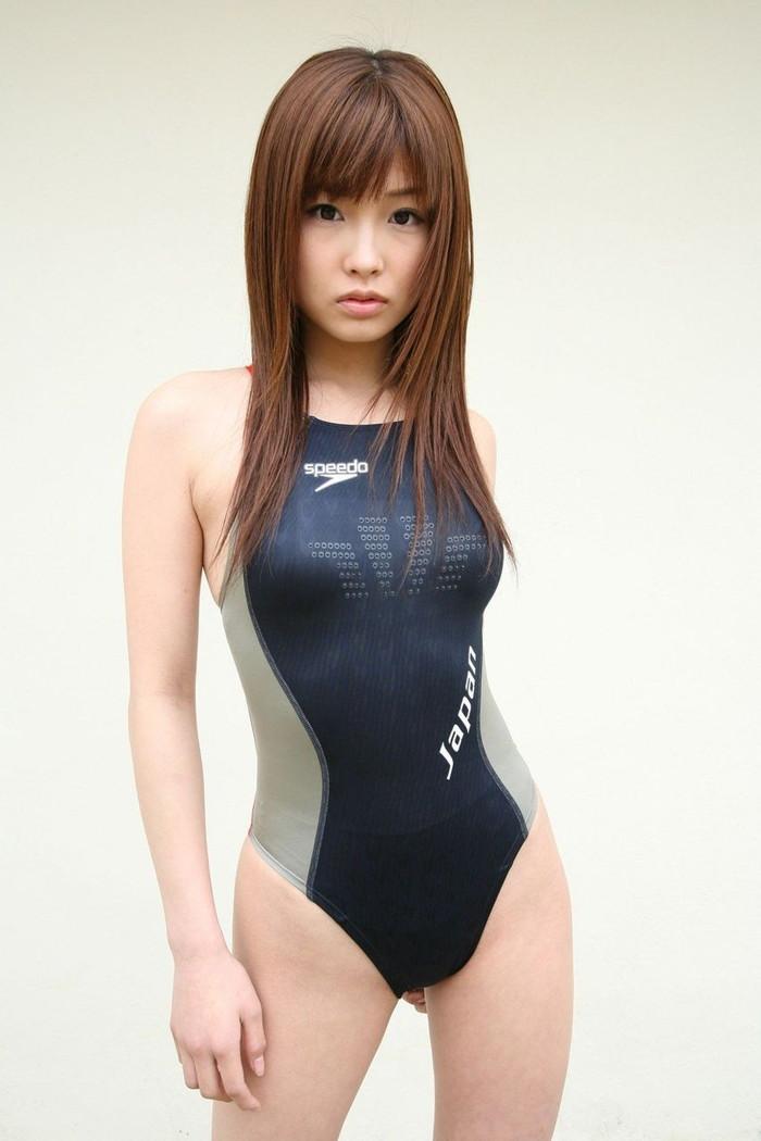 【競泳水着エロ画像】ヘタなビキニよりも絶対抜ける!競泳水着特集! 06