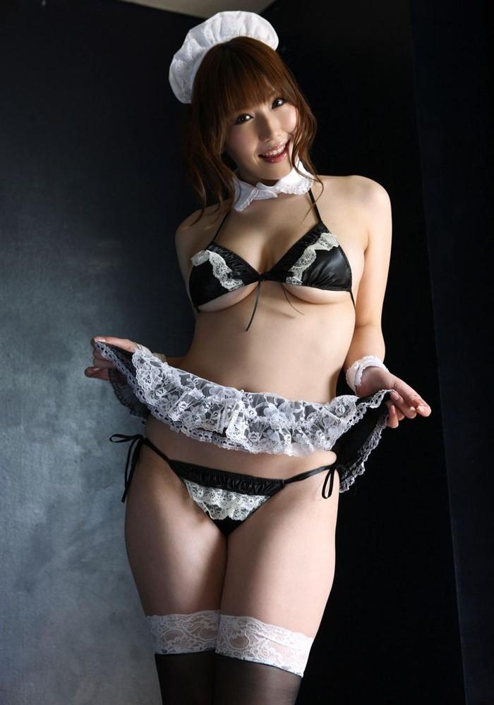 【メイドコスプレエロ画像】やっぱりメイドが好き!ってやつ寄ってこい! 06