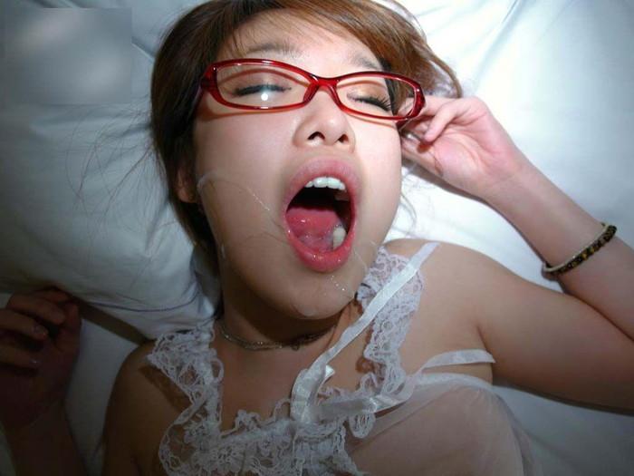 【口内射精エロ画像】フェラチオされるなら最後まで口でしてもらいたい(切実) 11