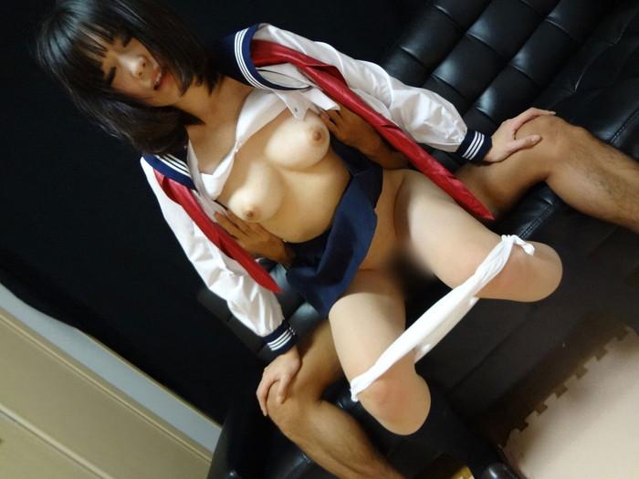 【JKコスプレセックスエロ画像】制服姿の女の子たちが卑猥すぎるセックス公開!?w