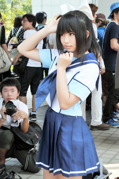 【アニコスエロ画像】アニメキャラになりきるコスプレイヤーたちの過激露出!w 06