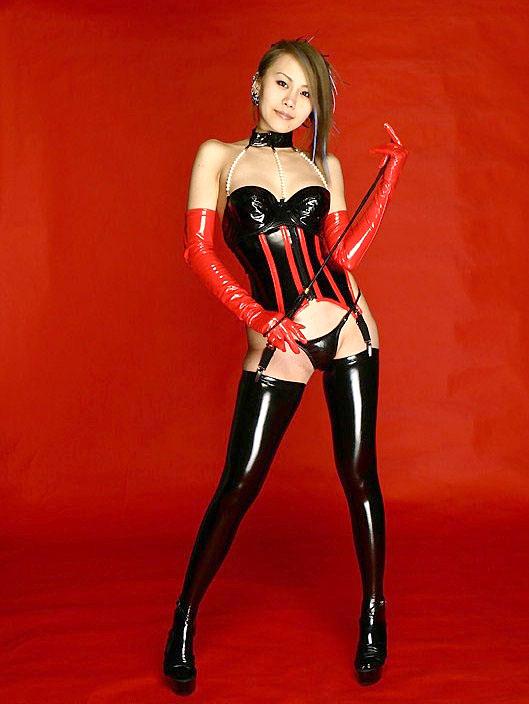 【ボンテージエロ画像】SMクラブの女王様といえばやっぱりこのコスチューム! 02
