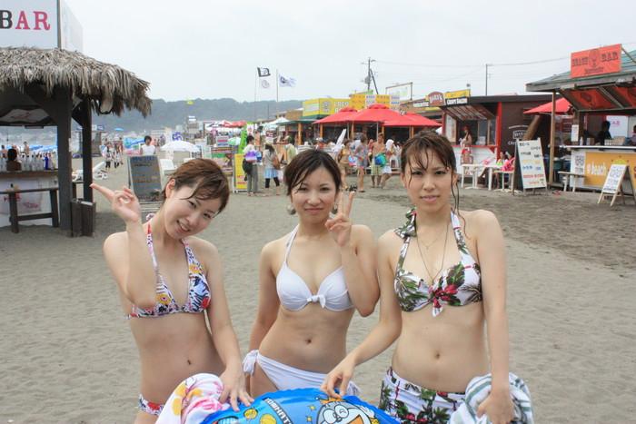 【素人水着エロ画像】素人娘たちのまぶし過ぎる水着姿にフル勃起! 13