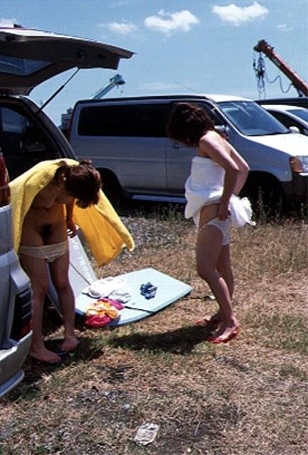 【着替え盗撮エロ画像】素人娘たちの着替えシーンをバッチリ盗撮!www 01