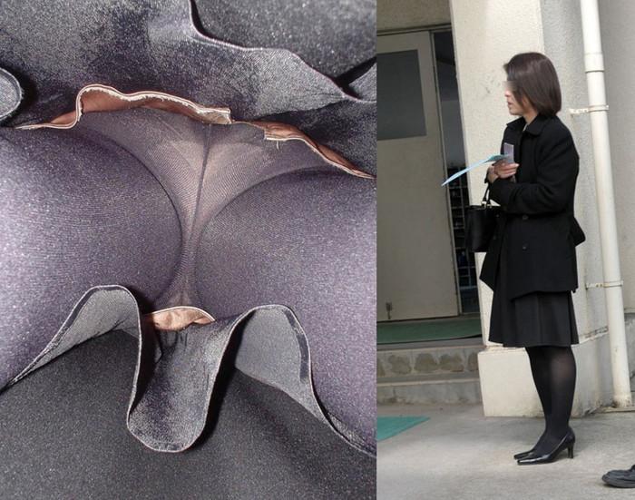 【逆さ撮りエロ画像】え!?マジ!?女の子のスカートの中身を直下から狙ってみた結果www 02