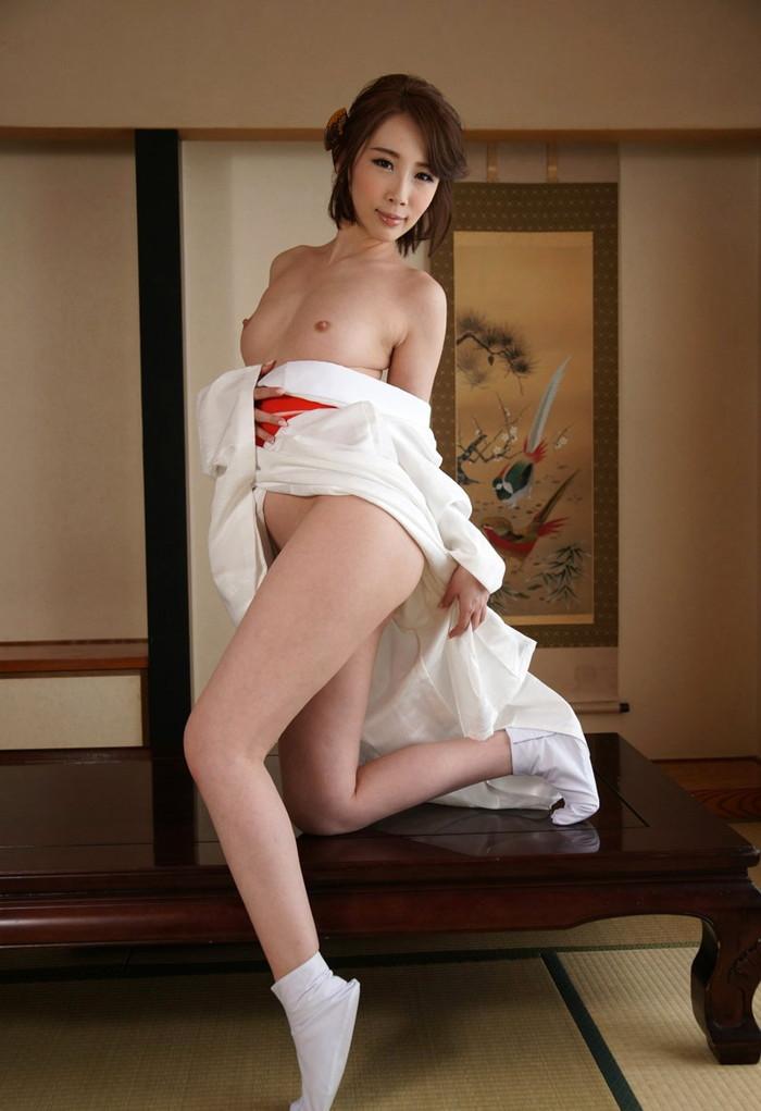 【和服エロ画像】日本人ならやっぱりこういうエロスもはずせないだろ! 18