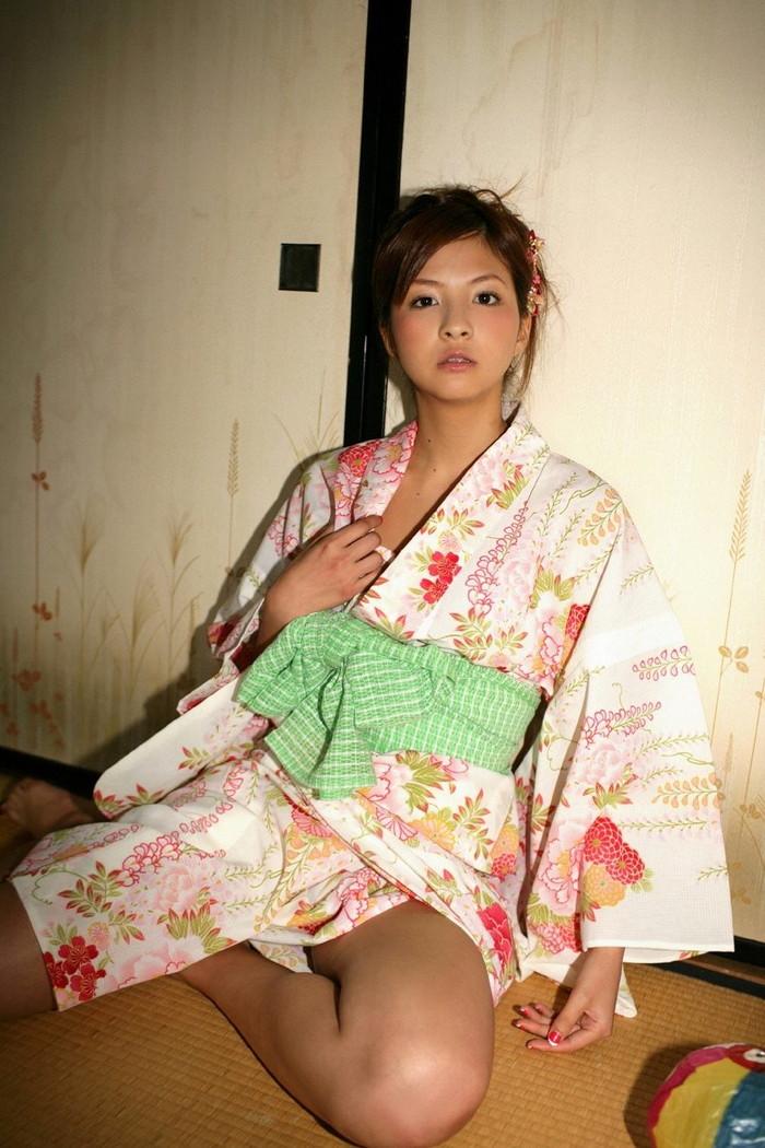 【和服エロ画像】日本人ならやっぱりこういうエロスもはずせないだろ! 24