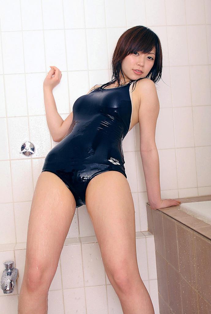 【スク水エロ画像】スクール水着好きなやつ寄ってこい!新スク水から旧スク水までw 15