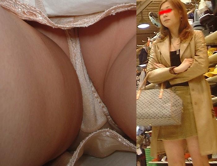 【パンチラ逆さ撮りエロ画像】女の子のスカートの中身を直下から狙い撃ち! 20
