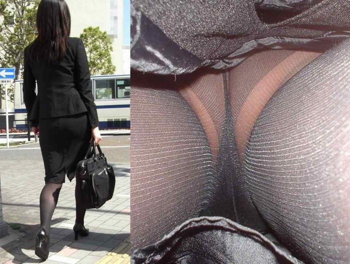 【パンチラ逆さ撮りエロ画像】女の子のスカートの中身を直下から狙い撃ち! 25