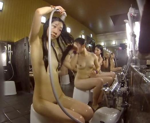 【女風呂エロ画像】入ることが許されないからこそ見てみたい!女風呂特集! 11