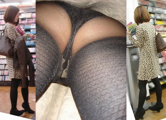 【逆さ撮りエロ画像】強引に女の子のスカートの中身を狙った結果がエロ杉!ww 06