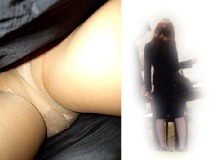 【逆さ撮りエロ画像】強引に女の子のスカートの中身を狙った結果がエロ杉!ww 13