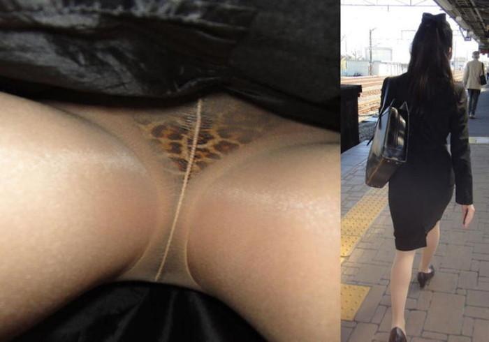 【逆さ撮りエロ画像】強引に女の子のスカートの中身を狙った結果がエロ杉!ww 27