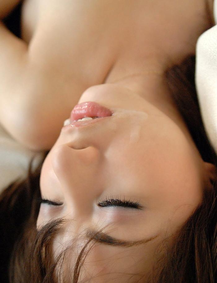 【顔射エロ画像】精液にまみれた女の子の表情が勃起不可避の破壊力! 16