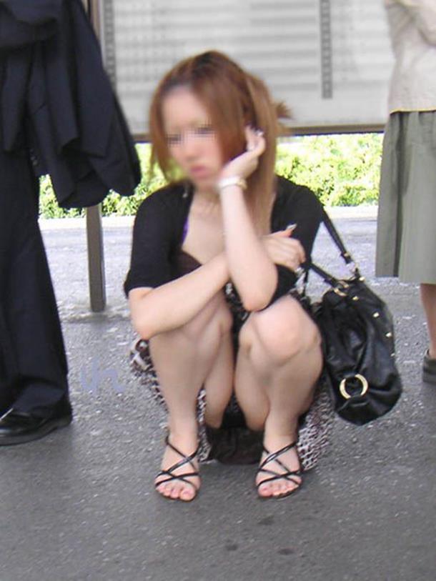【パンチラエロ画像】見せる前提ではない素人娘たちの偶然のエロスが最高! 20